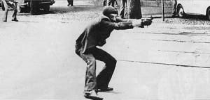 Manifestação em 1977