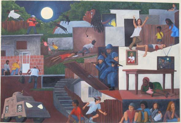 Invasão de Favela