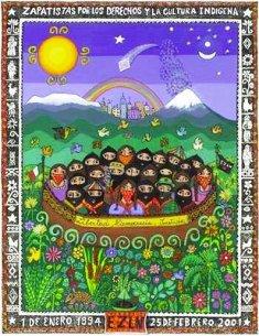 Zapatismo: Entre a guerra de palavras e a guerra pela palavra