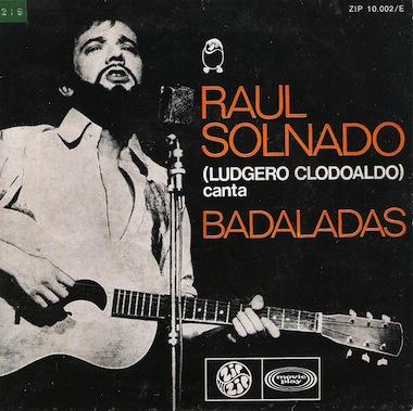 """Raúl Solnado na personagem de """"Ludgero Clodoaldo""""."""