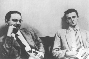 Hermínio Sacchetta e Maurício Tragtenberg (1956)