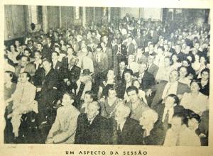 Foto 1 de mayo de 1946, que contó con la presencia de varios anarquistas.