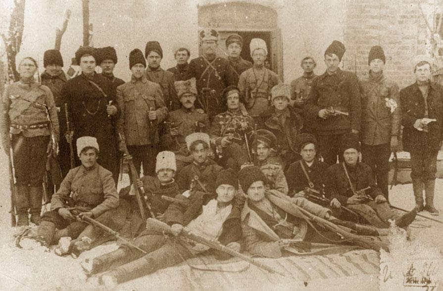 Os anarquistas russos e a Guerra Civil