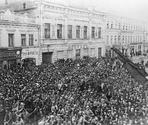 O levante anarquista e maximalista em Samara, 1918