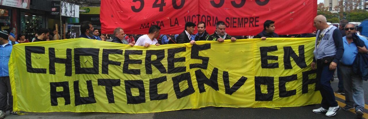 Negócios turbulentos: greve selvagem de motoristas de ônibus em Córdoba, Argentina