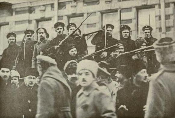 A revolta de Kronstadt