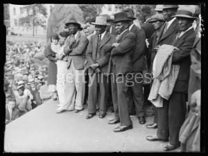 Comício da IAFE em Londres (1935)