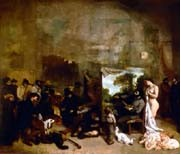 De <em>O Atelier do Pintor</em> (1855), destruído durante a 2ª Guerra Mundial…