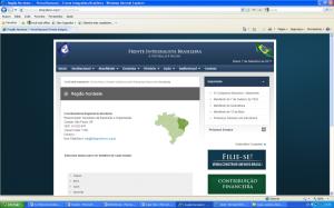 Sistema de busca por regiões do país