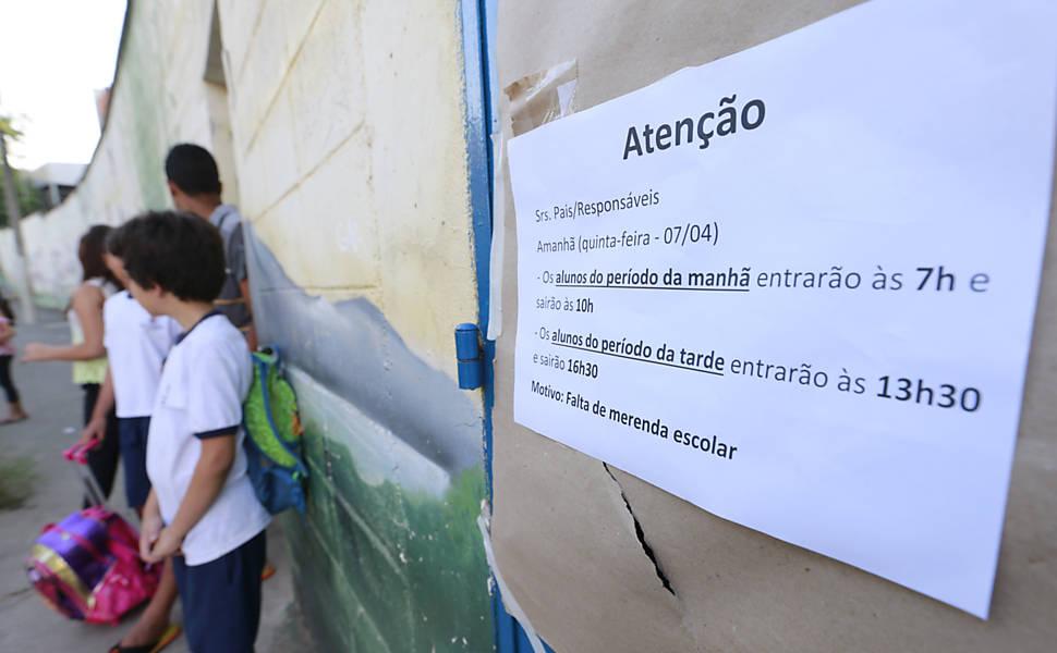25 SET 2017 (São Paulo – BR) #AceleraODesmonte: diminuição de professores por escola