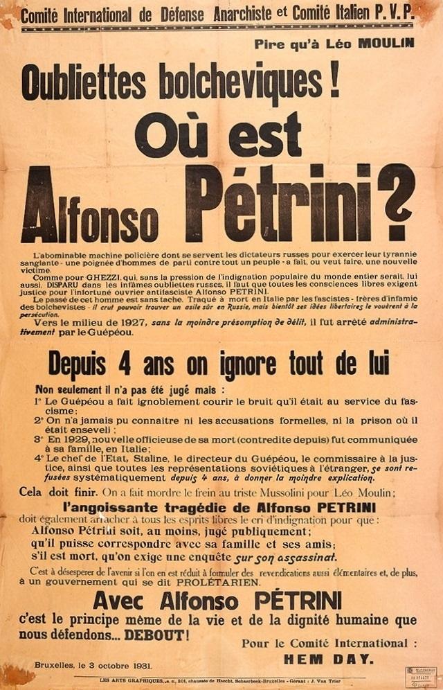 1921-1953: uma cronologia do anarquismo russo