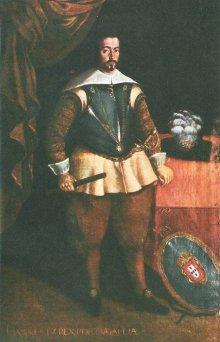 Avelar Rebelo, Retrato de D. João IV
