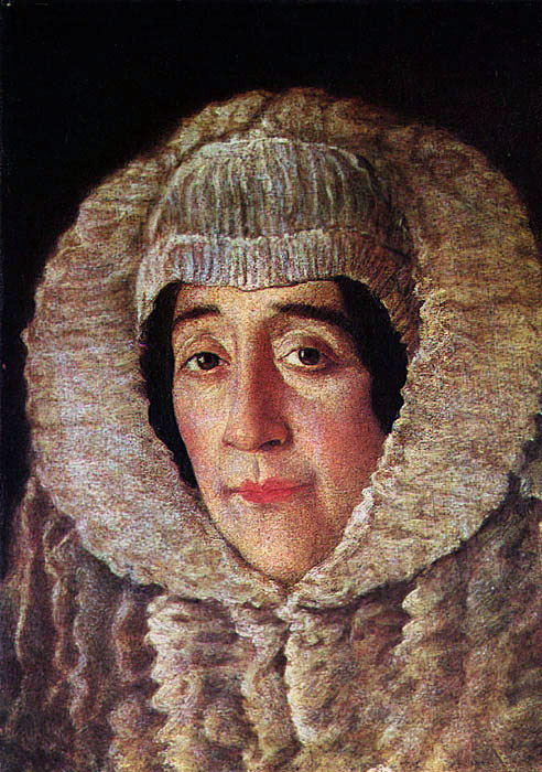Domingos Vieira, Retrato de D. Isabel de Moura