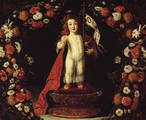 Josefa de Óbidos, O Menino Jesus Salvador do Mundo