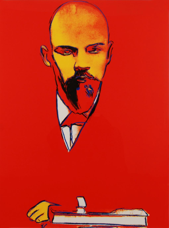 Lênin por Andy Warhol