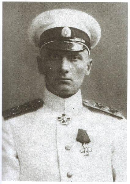 Almirante Alexander Vasilyevich Kolchak (1874-1920), comandante das tropas brancas no fronte oriental da guerra civil russa