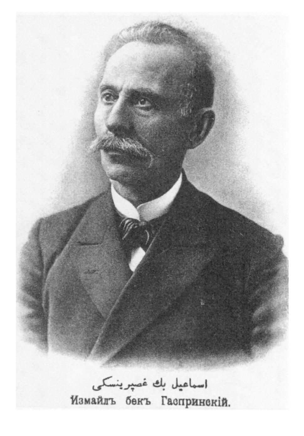 Ismail Bey Gaspirali, ou Ismail Gasprinsky (1851-1914), jadidista