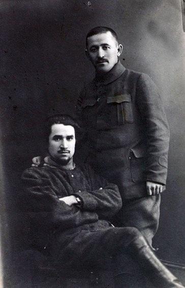 Sultan-Galiev e Ismail Firdevs em 1919