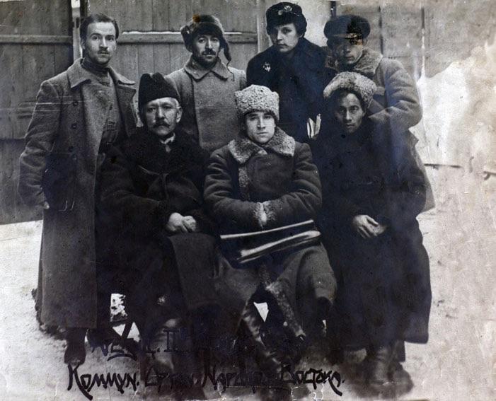 Sultan-Galiev no Segundo Congresso Pan-Russo de Organizações Comunistas dos Povos Orientais (1919)