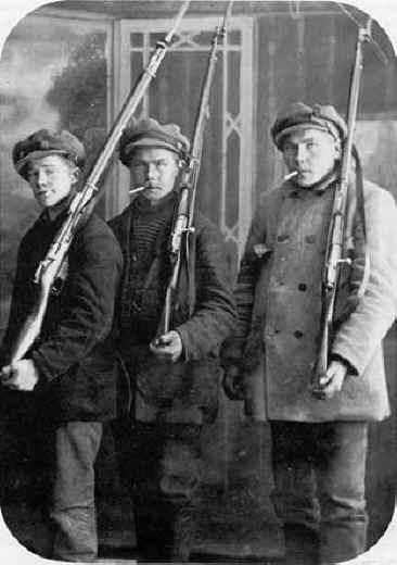 Corpos francos, as milícias do exército
