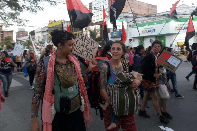 Autodefesa no Encontro Nacional de Mulheres (Argentina)