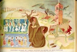 Carlos Botelho pintou a visão rural do fascismo português