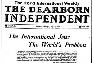 «O Judeu Internacional» foi originariamente publicado em folhetim no jornal de Ford.