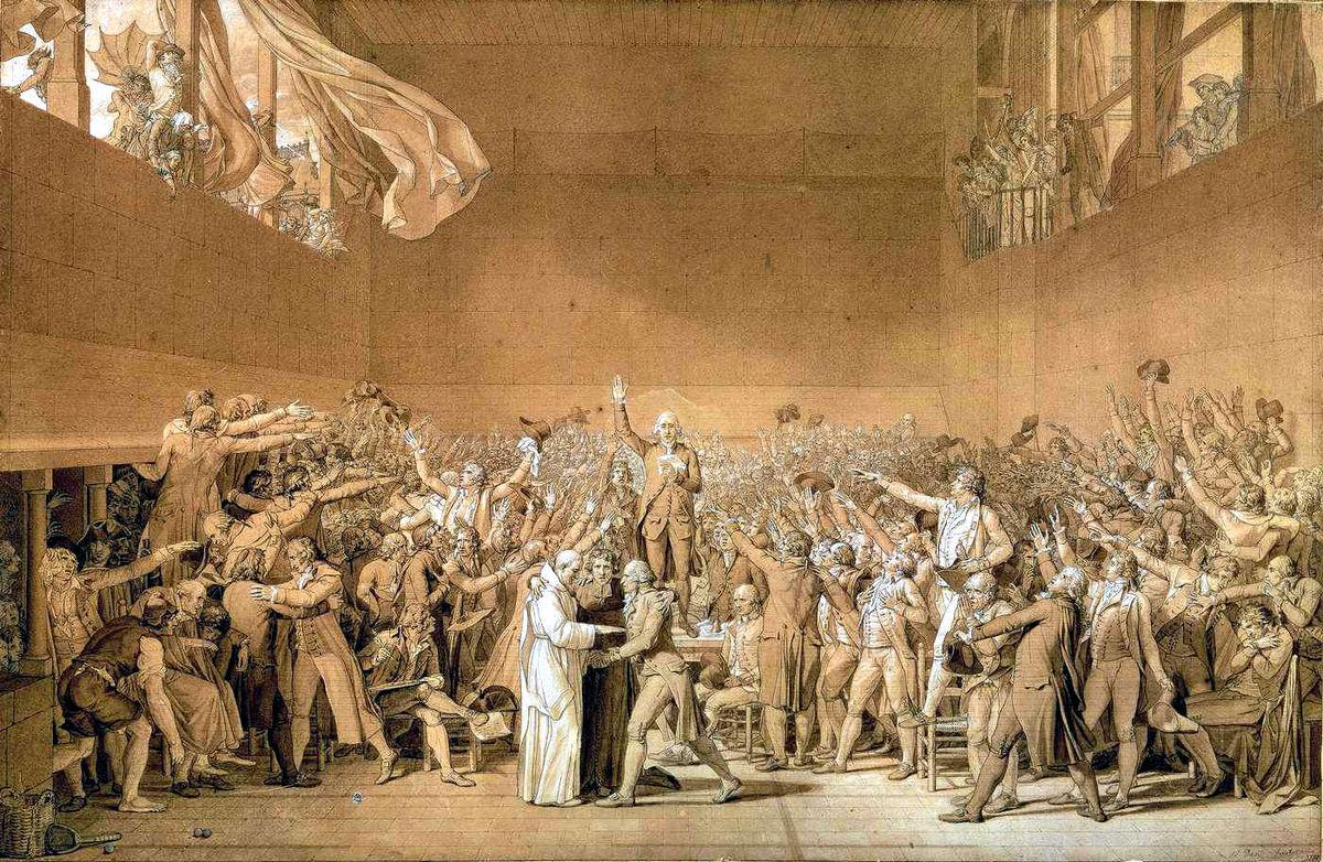 Juramento do Jogo da Péla (França, 1789)