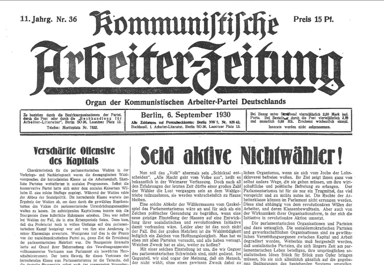 A Esquerda Comunista e as resoluções do Segundo Congresso da Internacional Comunista