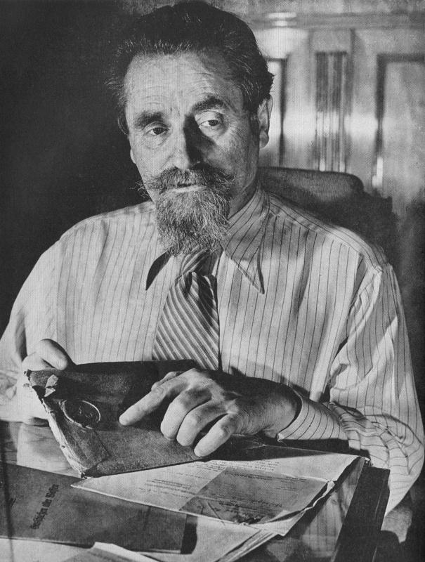 Solômon Abrâmovich Drídzo, conhecido como Lôzovski, em 1941