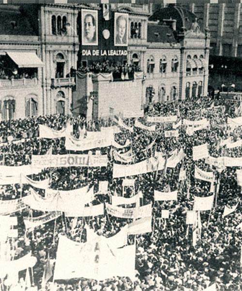 Comemorando o 17 de Outubro