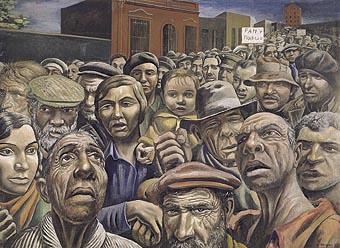 Antonio Berni, Manifestación (1934)