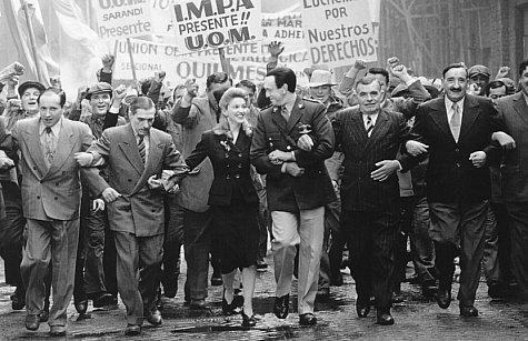 Perón, Evita e outros
