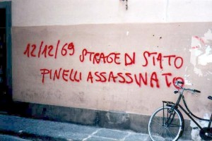Recordando o assassinato de Pinelli pelo terrorismo do Estado