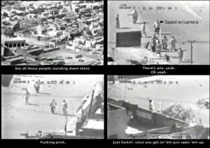 Quadros do vídeo revelado