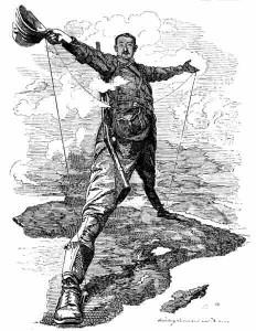 Cecil Rhodes, agente britânico de colonização da África