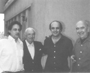 Fernando Henrique Cardoso, Raúl Prebisch, José Serra e Aníbal Pinto