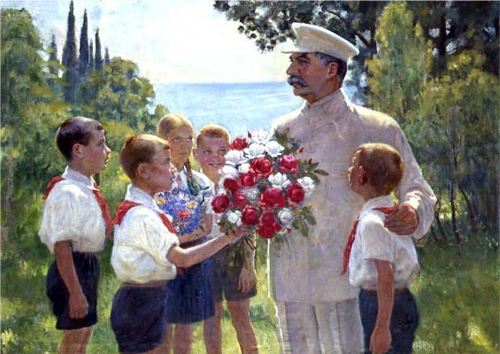 Pintura de Boris Vladimirski, 1949