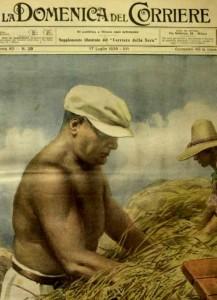 Mussolini na Batalha do Trigo