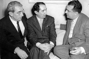 Mário Pedrosa, Flávio de Carvalho e Jacques Lassaigne