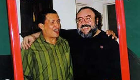 Hugo Chávez e Norberto Ceresole
