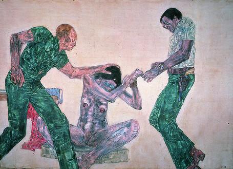 Leon Golub - Interrogation III