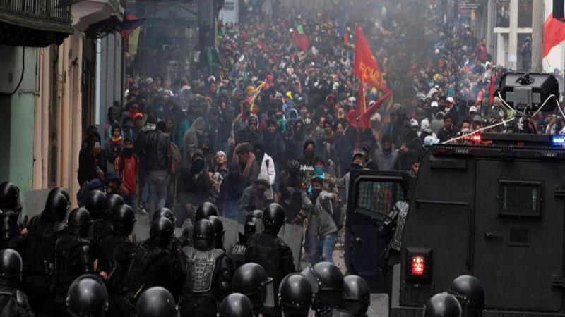 O mal-estar explodiu: entrevista sobre as manifestações no Equador