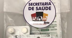 Kit covid que vem sendo distribuido em Goiás